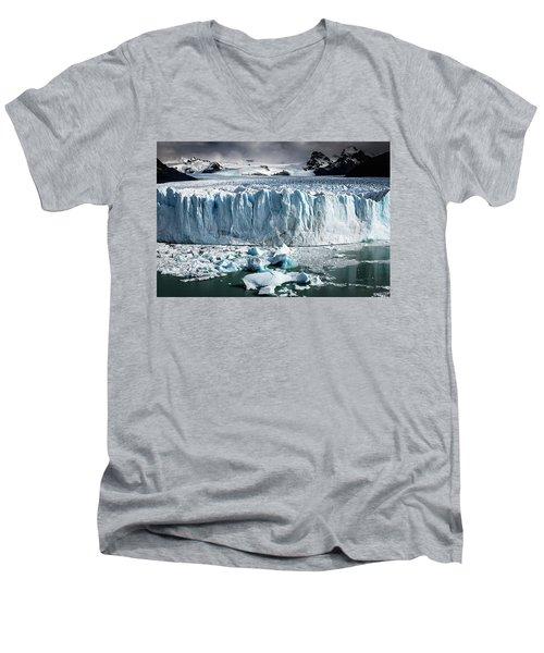 Glaciar 003 Men's V-Neck T-Shirt