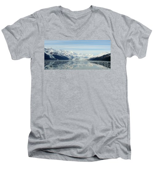 Glacier Bay Reflections Men's V-Neck T-Shirt