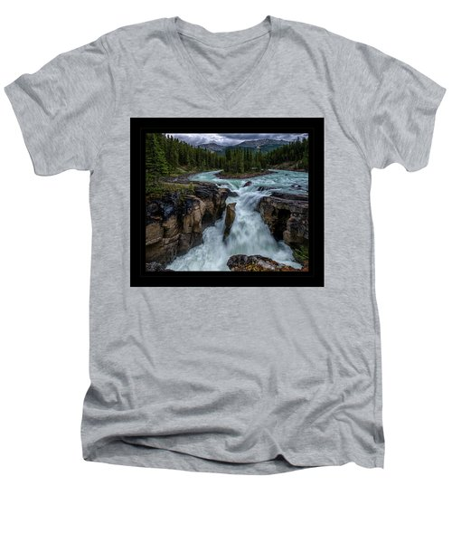 Glacier Falls Men's V-Neck T-Shirt
