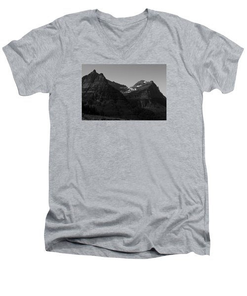 Glacier National Park 2 Men's V-Neck T-Shirt