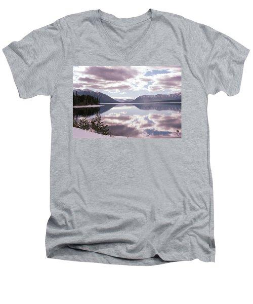 Glacier National Park 6 Men's V-Neck T-Shirt