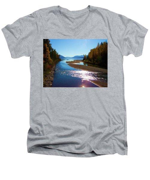 Glacier Park 9 Men's V-Neck T-Shirt