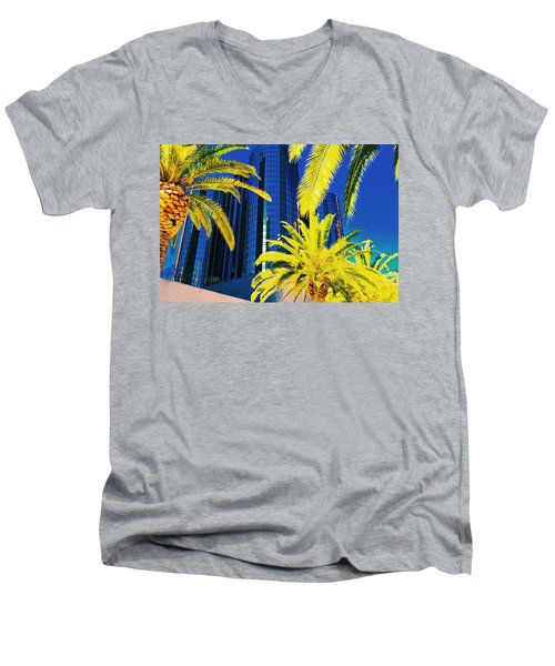 Glass And Palms Men's V-Neck T-Shirt