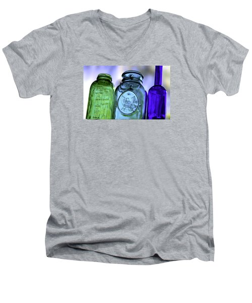 Glass Men's V-Neck T-Shirt