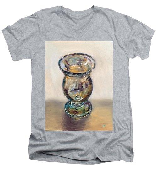 Glass Goblet Men's V-Neck T-Shirt