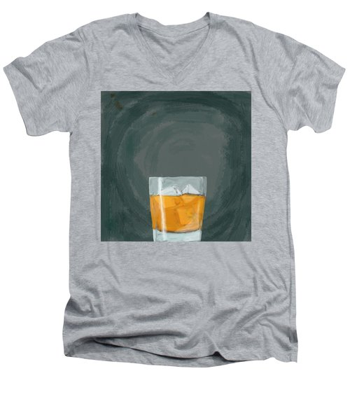 Glass, Ice,  Men's V-Neck T-Shirt