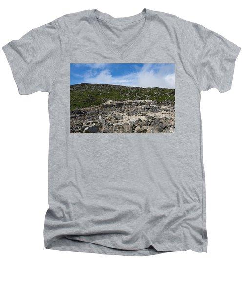 Glendasan Abandoned Mining Site Village Men's V-Neck T-Shirt
