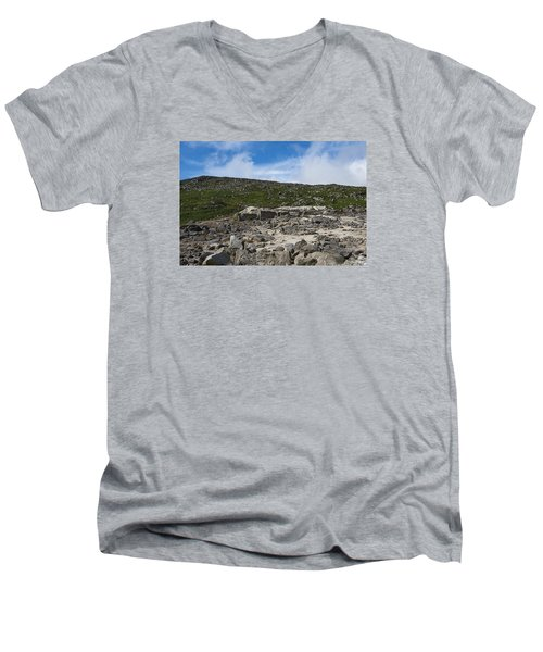 Glendasan Abandoned Mining Site Village Men's V-Neck T-Shirt