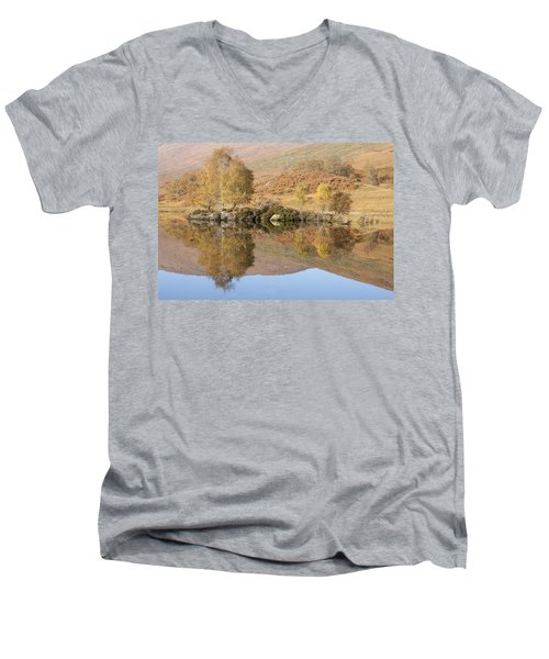 Glengarry Reflection Men's V-Neck T-Shirt