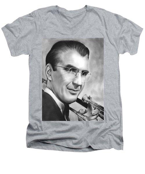 Glenn Miller Men's V-Neck T-Shirt