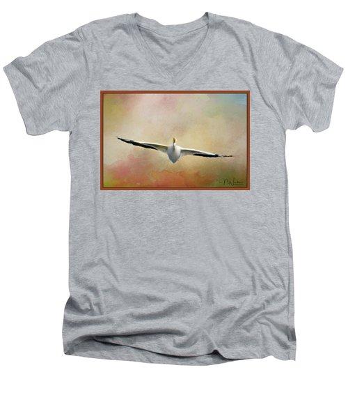 Gliding On Air Men's V-Neck T-Shirt