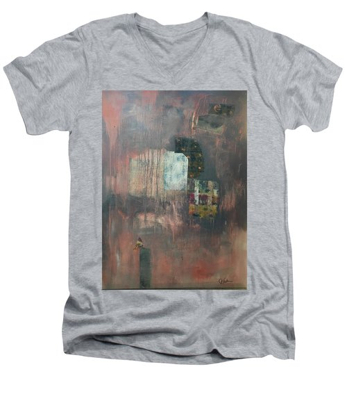 Glimpse Of Town Men's V-Neck T-Shirt