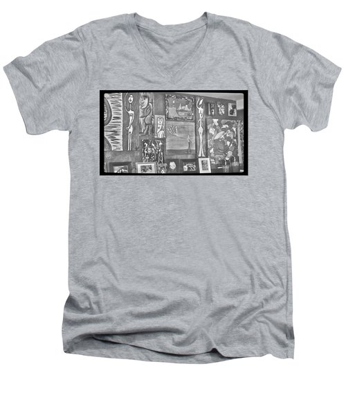Glimpses Of Where Art Lives 4 Men's V-Neck T-Shirt