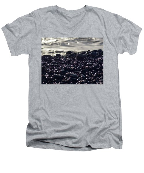 Glistening Rocks Men's V-Neck T-Shirt