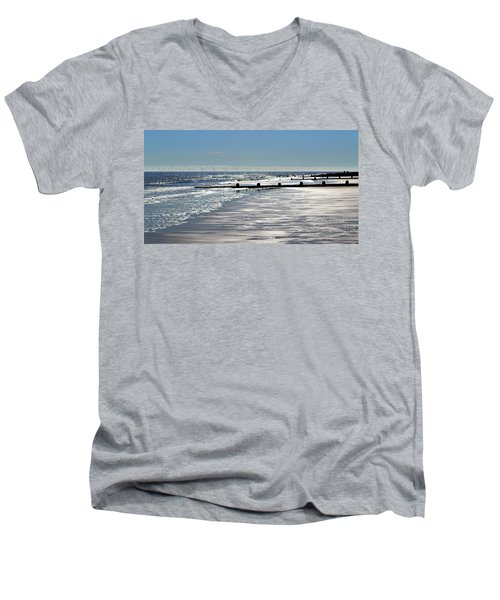 Glistening Shore Men's V-Neck T-Shirt