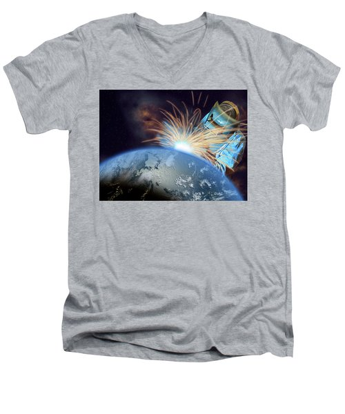 Global Meltdown Men's V-Neck T-Shirt