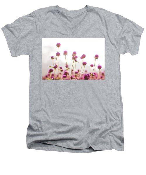 Globe Amaranath Men's V-Neck T-Shirt