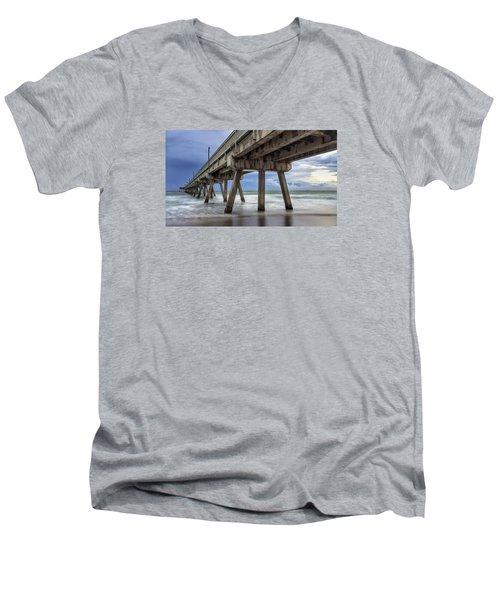 Gloomy Pier Men's V-Neck T-Shirt