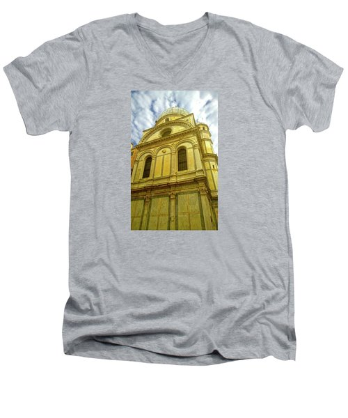 Men's V-Neck T-Shirt featuring the photograph Glory by Anne Kotan