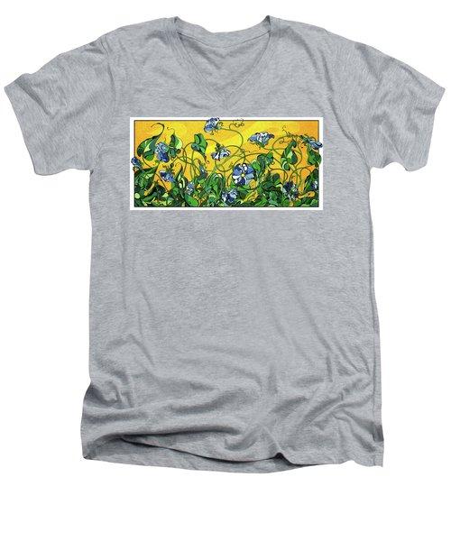 Glory In The Flower Men's V-Neck T-Shirt