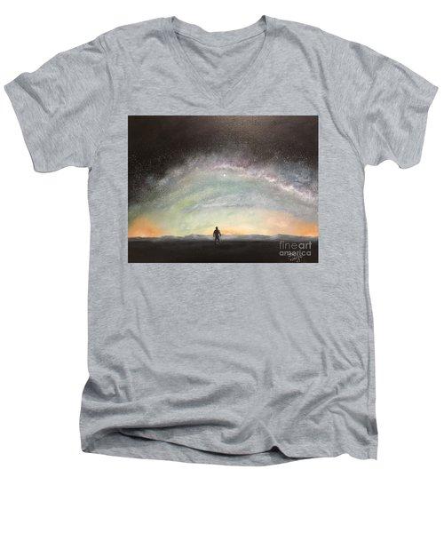 Glory Of God Men's V-Neck T-Shirt