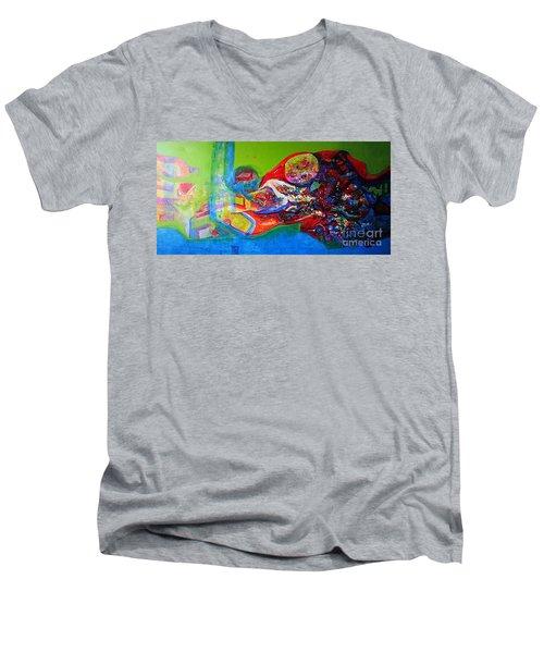 Glory Of Harmony Men's V-Neck T-Shirt