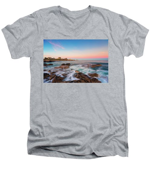 Gloucester Sunset 1 Men's V-Neck T-Shirt