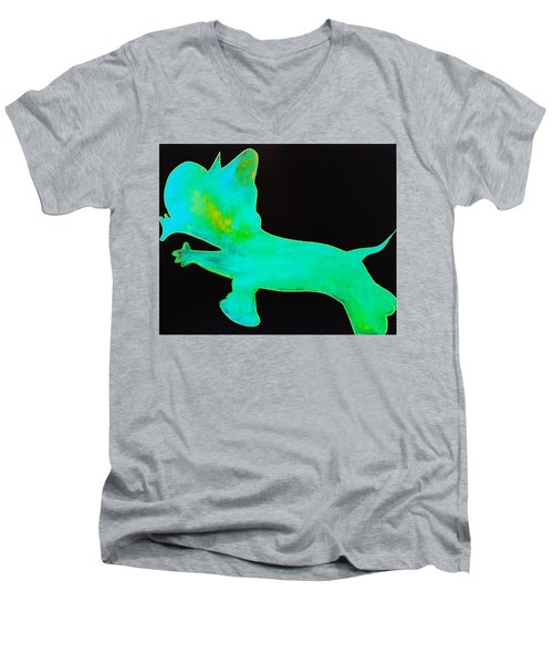 Glow Men's V-Neck T-Shirt