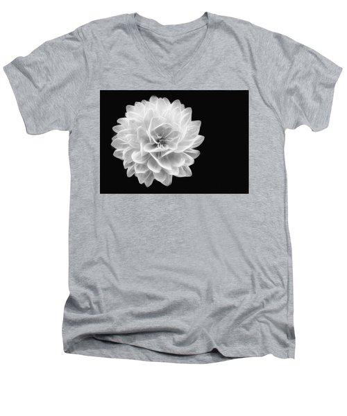 Glowing Dahlia Men's V-Neck T-Shirt