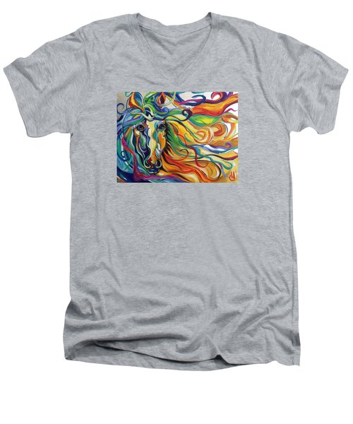 Glyde  Men's V-Neck T-Shirt