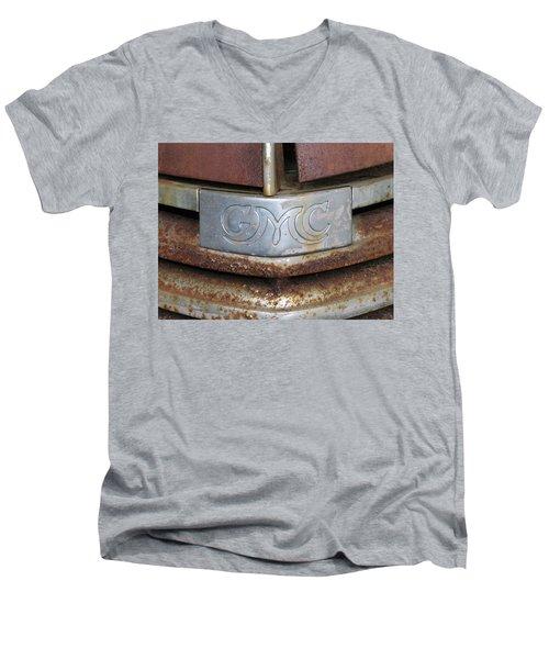 GMC Men's V-Neck T-Shirt