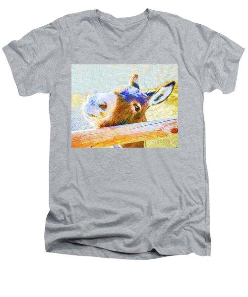 Go Jack Men's V-Neck T-Shirt