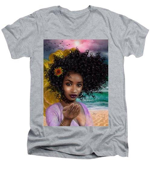 Goddess Oshun Men's V-Neck T-Shirt