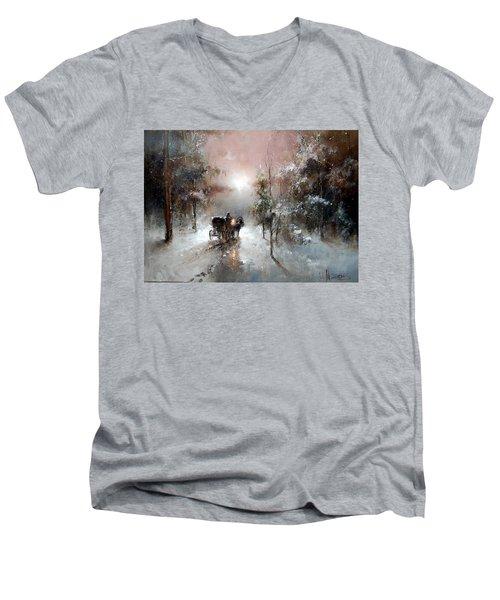 Going For Visit Men's V-Neck T-Shirt