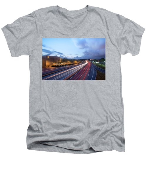 Going Somewere Men's V-Neck T-Shirt