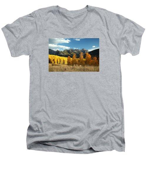 Gold At Their Feet Men's V-Neck T-Shirt