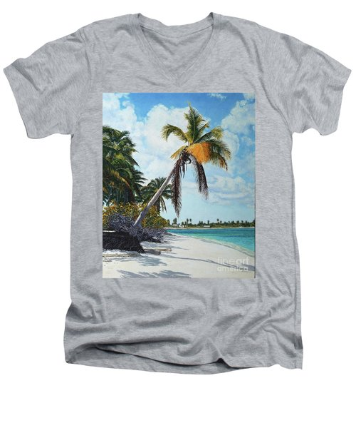 Gold Coconut Men's V-Neck T-Shirt