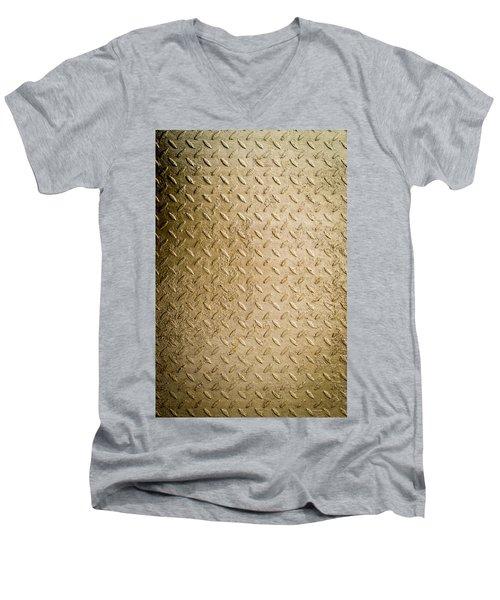 Grit Of Goldfinger Men's V-Neck T-Shirt