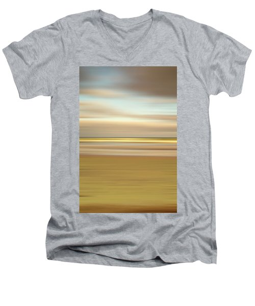 Golden Beach Men's V-Neck T-Shirt