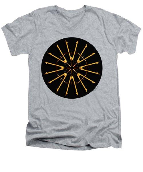 Golden Compasses Men's V-Neck T-Shirt