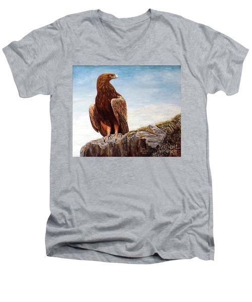 Golden Eagle Men's V-Neck T-Shirt