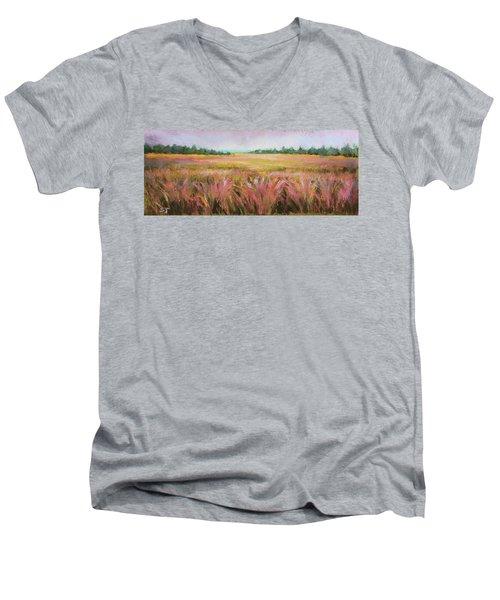 Golden Field Men's V-Neck T-Shirt