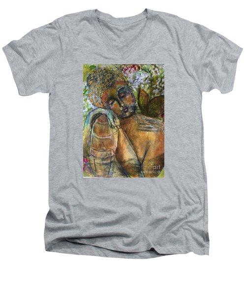 Golden Garden Men's V-Neck T-Shirt