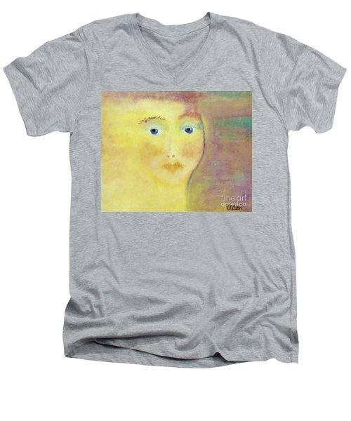 Golden Girl Men's V-Neck T-Shirt