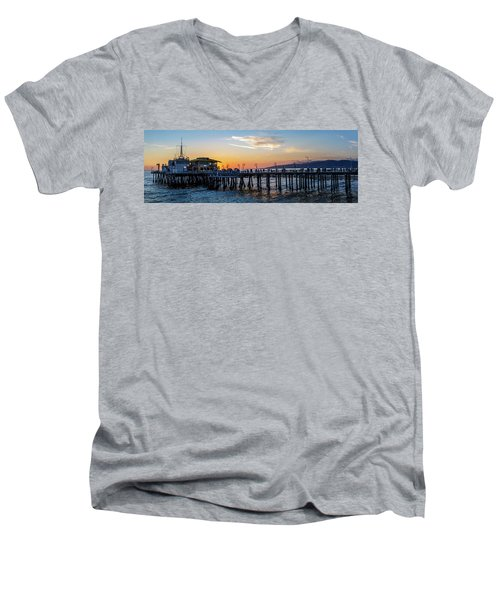Golden Hour - Panorama Men's V-Neck T-Shirt