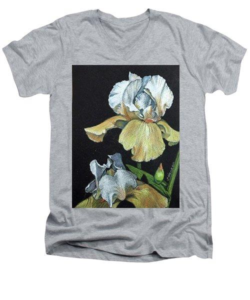 Golden Iris Men's V-Neck T-Shirt