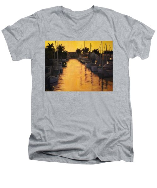 Golden Marina 2 Men's V-Neck T-Shirt