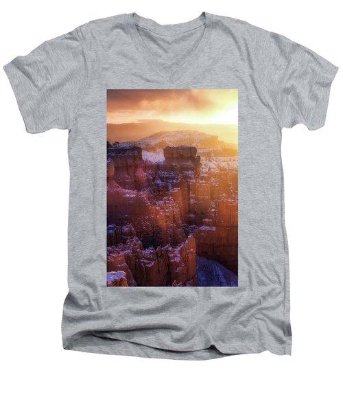 Golden Moment Men's V-Neck T-Shirt