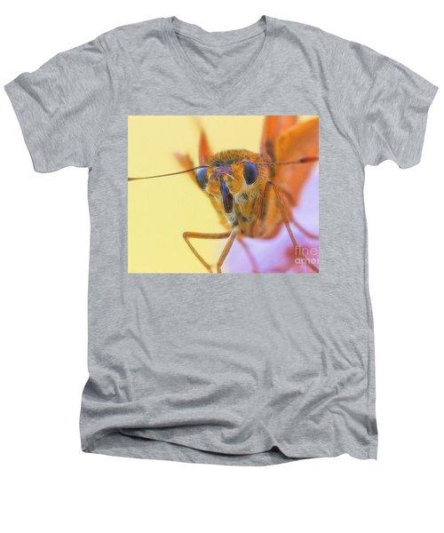 Golden Moth Men's V-Neck T-Shirt