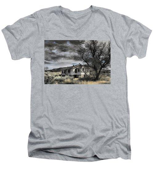 Golden New Mexico Men's V-Neck T-Shirt by Robert FERD Frank